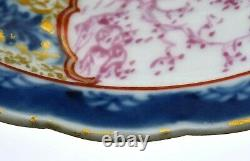 18th Century Chinese Export Famille Rose Porcelain Plate Dish Figure Figurine