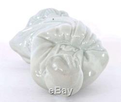 1940's Chinese White Glaze Monochrome Porcelain Buddha Quan Kwan Guan Yin Figure