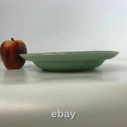 19th Century Chinese Celadon Shallow Porcelain Bowl