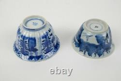 2 antique Chinese Porcelain Cups, Kangxi 18th century