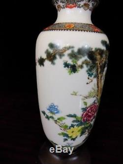 25 Matched Pair Of Jingdezhen Chinese Porcelain Vase Lamps Mirror Image