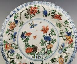 A Chinese Antique Famille-Verte Porcelain Plate Kangxi Period (18th C)