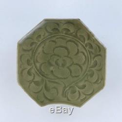 A Chinese Celadon Glazed Porcelain Pillow