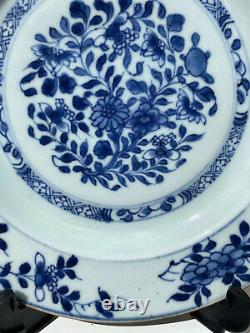 A Fine Antique Chinese KANGXI Flower Porcelain Plate #2