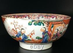 Antique 18th Century Chinese Export Porcelain Bowl Qianlong Period