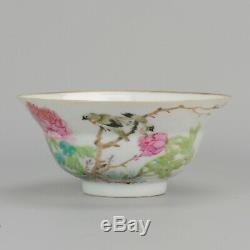 Antique 19th c Chinese Porcelain Qianjiang Bowl Qing ca 1900