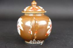 Antique Chinese Porcelain Brown Glase Teapot, 18th Century