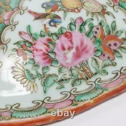 Antique Chinese Porcelain Famille Rose Medallion Large Covered Tureen, 12