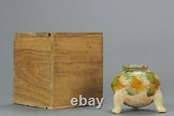 Antique Chinese Sancai Tang Dynasty Small Water Pot China Porcelain