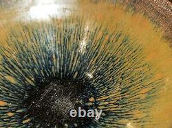 Chinese Jian Kiln Hare's Fur Temmoku Glazed Pattern Porcelain Tea Bowl