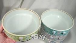 Chinese Peranakan Nyonya Straits Porcelain Stacking Bowls 58640