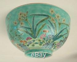 Chinese Porcelain Empress Dowager Cixi Porcelain Bowl Ching Qing