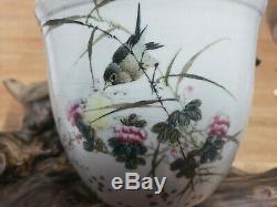 Chinese Porcelain Famille Rose Flower Pot