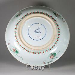 Chinese famille verte dish, early Kangxi (1662-1722)