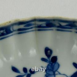 Chinese porcelain plate blue and white decoration, Qianlong Period, 18th century