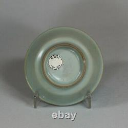 Chinese small Longquan celadon brush washer, Southern Song dynasty (1127-1279)