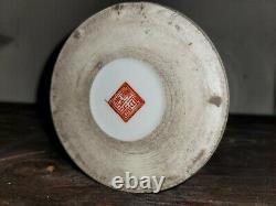 Fine Chinese Familie Rose Porcelain Vase. Hat Tube