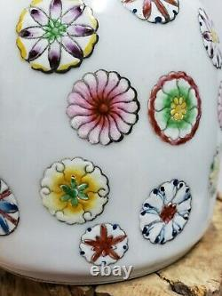 Fine Chinese Famille Rose Porcelain Vase 9Height