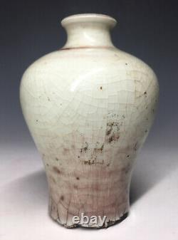 Fine Chinese Porcelain Red Lang Peach Bloom Type Early Meiping Kangxi Qing