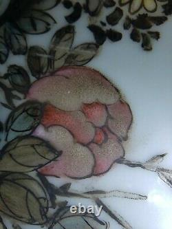 Fine Old Chinese Porcelain Famille Rose Plaque