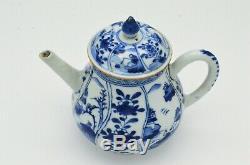 Kangxi Period (17th/18th) Century Chinese Antique Blue & White Porcelain Teapot