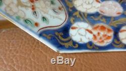 PAIRE ASSIETTES PORCELAINE CHINE XVIIIème. Décor IMARI. Antique chinese plates