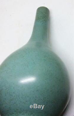 Pair of Chinese Antique MING Porcelain Vase Blue Glaze Dan Vase JiaJing Marked